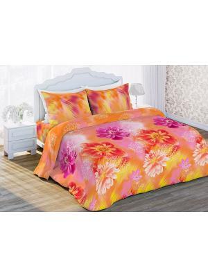 Постельное белье Любимый Дом. Цвет: оранжевый