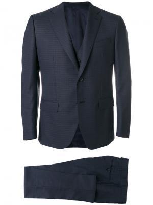 Костюмный пиджак Caruso. Цвет: синий