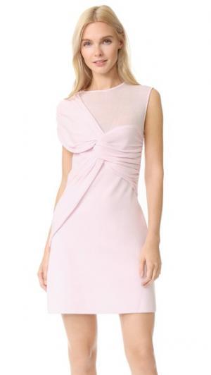 Платье без рукавов Giambattista Valli. Цвет: розовый