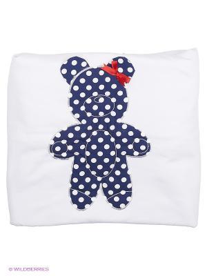 Одеяло на синтепоне Лео. Цвет: белый, синий