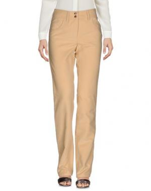 Повседневные брюки MALO. Цвет: охра
