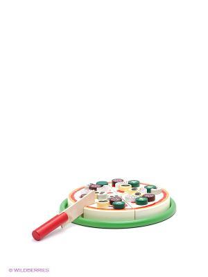 Игровой набор Пицца VELD-CO. Цвет: зеленый, красный, желтый