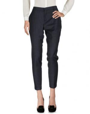 Повседневные брюки ELEVENTY. Цвет: темно-синий