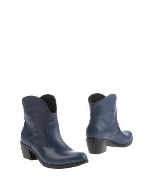 Полусапоги и высокие ботинки EMANUELA PASSERI. Цвет: синий