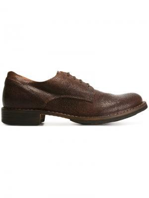Ботинки-дерби Eternity Fiorentini +  Baker. Цвет: коричневый