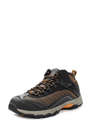 Ботинки трекинговые Escan. Цвет: коричневый