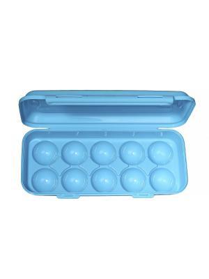 Контейнер для 10 яиц Migura. Цвет: голубой