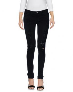 Джинсовые брюки NUMERO 00. Цвет: черный