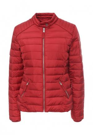 Куртка утепленная Jennyfer. Цвет: красный