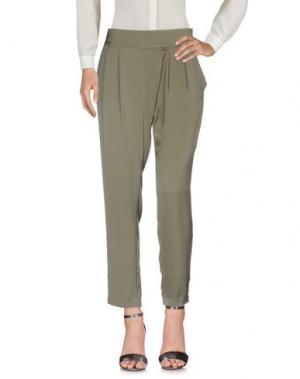 Повседневные брюки BA&SH. Цвет: зеленый-милитари