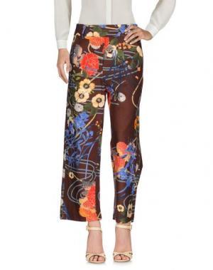 Повседневные брюки SOUVENIR. Цвет: какао