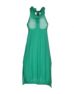 Платье до колена PRINCESSE METROPOLITAINE. Цвет: зеленый