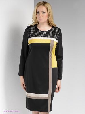 Платье Bize. Цвет: черный