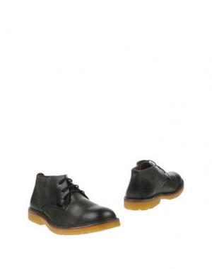 Полусапоги и высокие ботинки WALLY WALKER. Цвет: зеленый-милитари