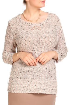 Пуловер HELENA VERA. Цвет: оранжевый