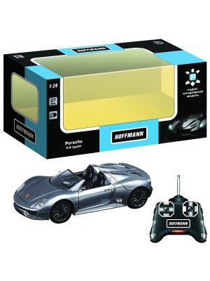 Машина р/у Porsche 918 Spyder  1:24 HOFFMANN. Цвет: серебристый