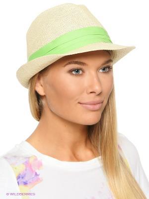 Шляпа Baon. Цвет: салатовый, бежевый