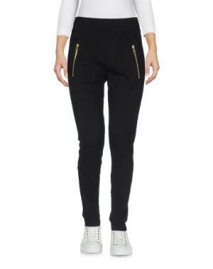 Повседневные брюки LO not EQUAL. Цвет: черный