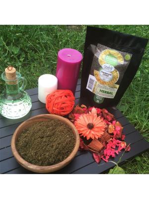 Травяной скраб Клюква и брусника с маслом Лесного Ореха, 200 гр Grosheff. Цвет: зеленый
