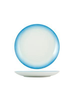 Набор тарелок обеденных ЛАЗУРЬ H&H. Цвет: синий