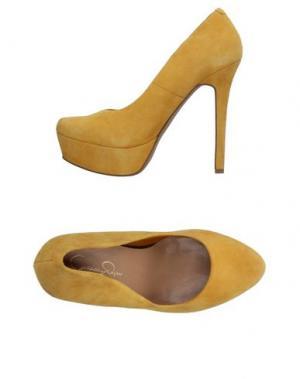 Туфли JESSICA SIMPSON. Цвет: охра