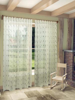 Готовый тюль SANPA HOME COLLECTION. Цвет: зеленый