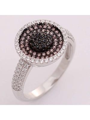 Кольцо BALEX. Цвет: черный, серебристый, темно-коричневый