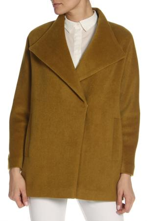 Пальто KENZ. Цвет: зеленый