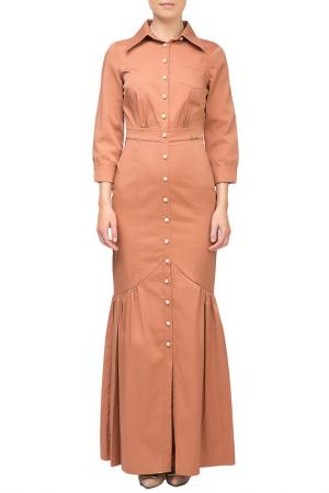 DRESS Sassofono. Цвет: cinnamon