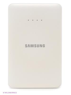 Внешний аккумулятор 11.300mA с кабелем microUSB Samsung. Цвет: белый