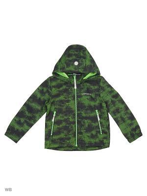 Куртка Icepeak. Цвет: темно-зеленый