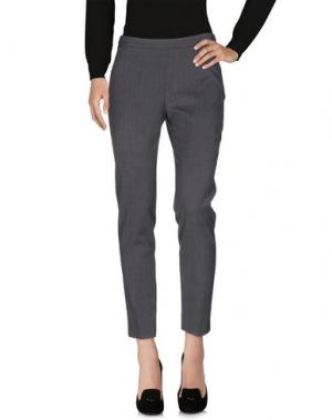 Повседневные брюки CAPPELLINI by PESERICO. Цвет: стальной серый
