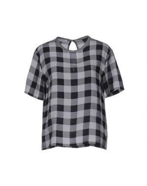 Блузка EQUIPMENT FEMME. Цвет: серый