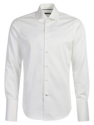 Рубашка Angelo Bonetti. Цвет: молочный