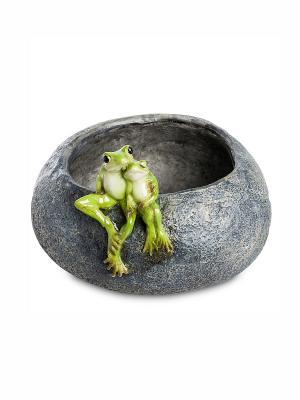 Кашпо Лягушки Art East. Цвет: серый