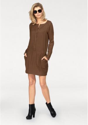 Платье Laura Scott. Цвет: коричневый