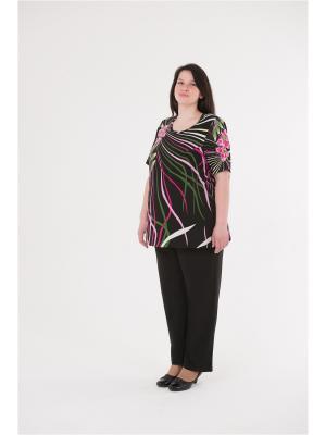 Блузка БаяНа. Цвет: черный