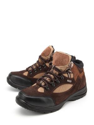 Ботинки Алми. Цвет: коричневый