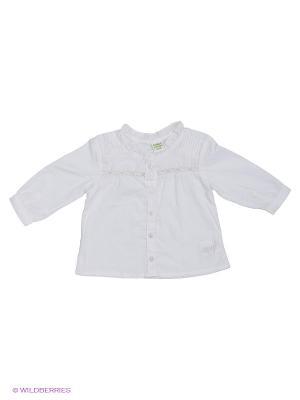Рубашка Teidem. Цвет: белый