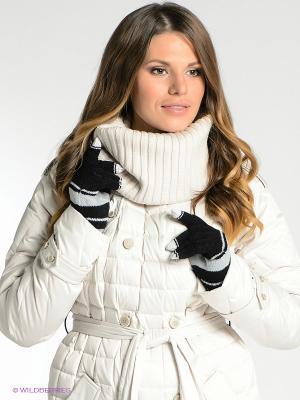 Перчатки Milana Style. Цвет: черный, светло-серый, белый