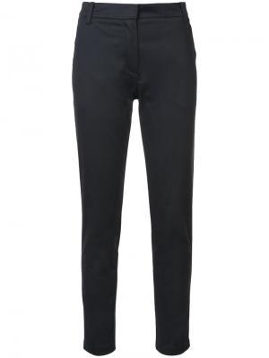 Облегающие брюки с лампасами Palmer / Harding. Цвет: чёрный