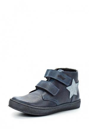 Ботинки Bambi. Цвет: синий