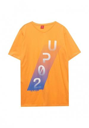 Футболка s.Oliver. Цвет: оранжевый