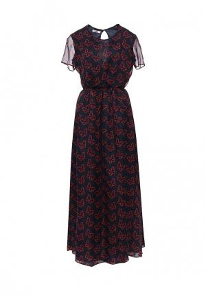 Платье Blugirl Folies. Цвет: синий