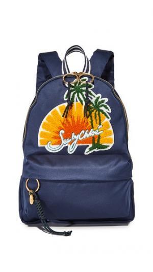 Атласный рюкзак See by Chloe
