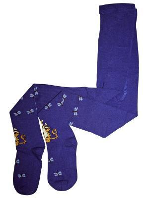 Колготки Master Socks. Цвет: темно-синий
