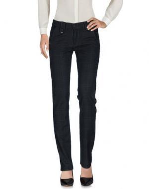 Повседневные брюки TAKE-TWO. Цвет: стальной серый