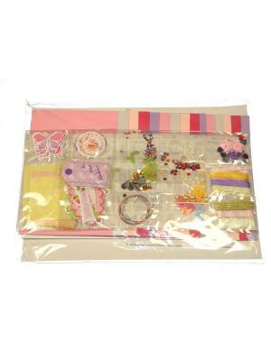 Набор Сделай открытки Азбука Тойс. Цвет: розовый