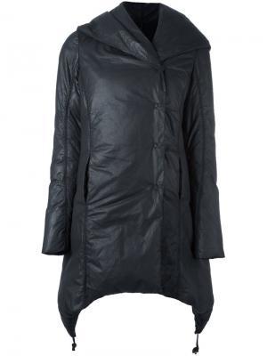 Дутое пальто Masnada. Цвет: чёрный