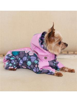 Дождевик для собак (унисекс) LUCKY DOG. Цвет: розовый
